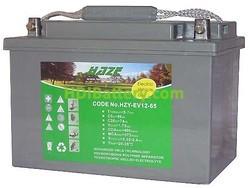 Batería para silla de ruedas 12v 65ah GEL HZY-EV12-65 HAZE